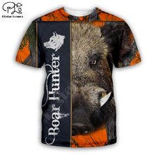 Load image into Gallery viewer, 3D Boar Hunter T-shirt