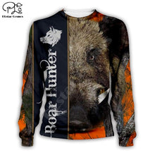 Load image into Gallery viewer, 3D Boar Hunter Sweat Shirt