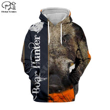 Load image into Gallery viewer, 3D Boar Hunter Hoodie