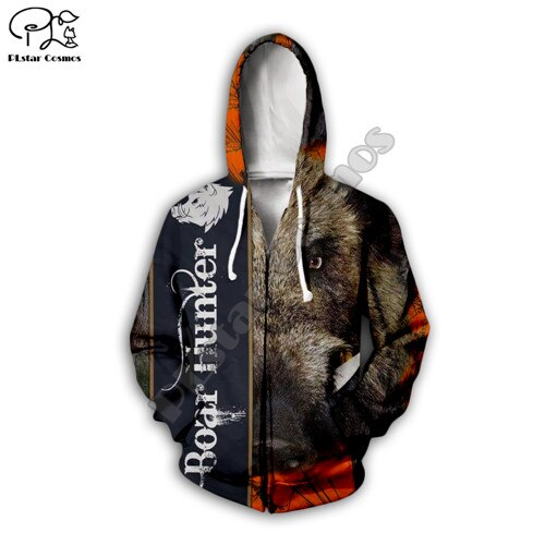 3D Boar Hunter Jacket