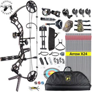 19-70lbs Archery Right Handed Compound Bow Set