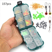 Load image into Gallery viewer, 157 pcs Mini Tackle Box