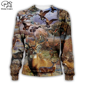 3D Hunting Sweat Shirt