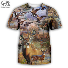 Load image into Gallery viewer, 3D Hunting T-shirt