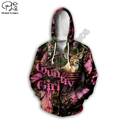 3D Country Girl Jacket