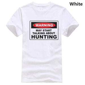 Warning hunting T-shirt