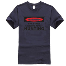 Load image into Gallery viewer, Warning hunting T-shirt