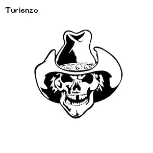 Cowboy Skull Stickers
