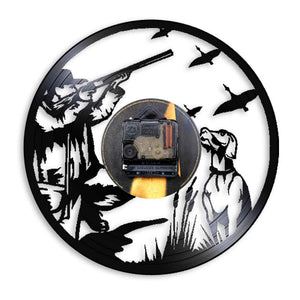 Wall Clock Duck Hunting