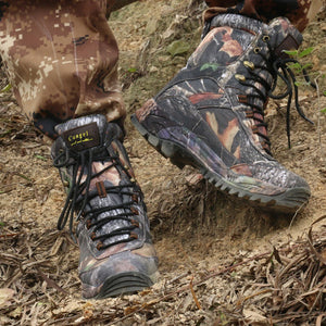 Outdoor Hiking Or Hunting Boots