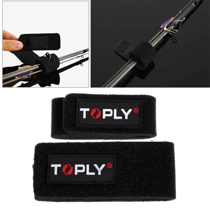 2x Fishing Rod Fastening Strap
