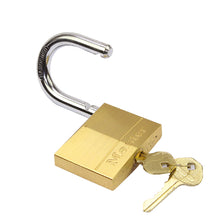 Load image into Gallery viewer, Master Solid Brass Padlock (S,M,L)