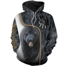 Load image into Gallery viewer, 3D Bear Hunter Hoodie
