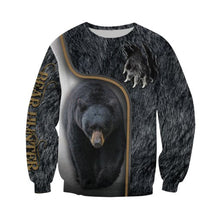Load image into Gallery viewer, 3D Bear Hunter Sweat shirt
