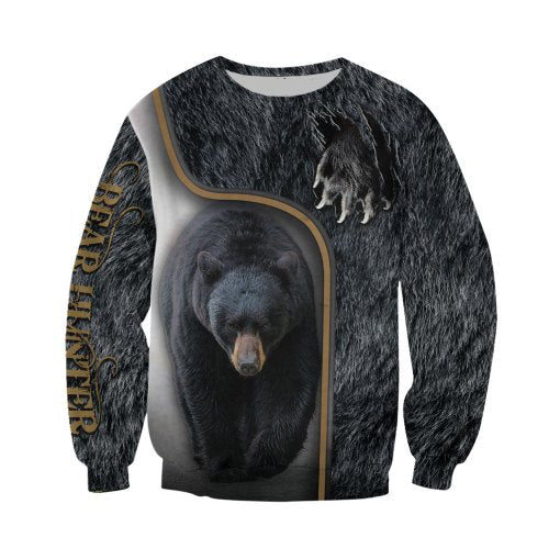 3D Bear Hunter Sweat shirt
