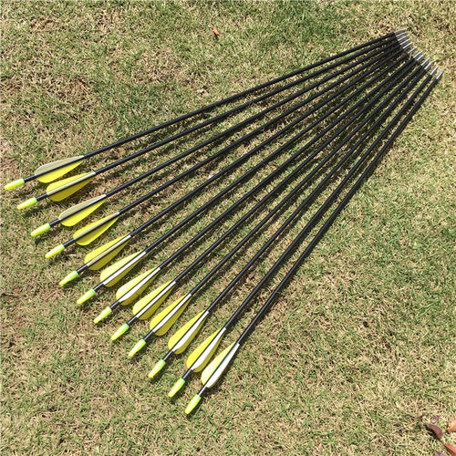 6/12/24 Pack Fiberglass Arrows