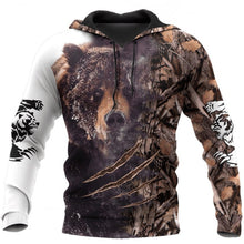 Load image into Gallery viewer, 3D Bear Hoodie