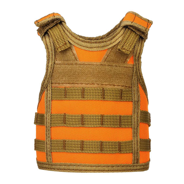 Tactical Military MOLLE Vest Stubby Holder