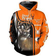 Load image into Gallery viewer, 3D Deer Hunter Hoodie