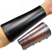 Load image into Gallery viewer, Leather Archery Arm/wrist Guard