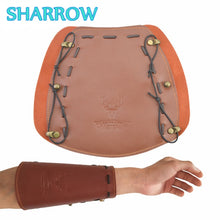 Load image into Gallery viewer, Archery Arm Guard Traditional Leather