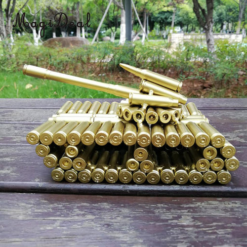 Handcrafted Bullet shell Casings Tank