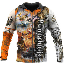 Load image into Gallery viewer, 3D Huntaholic Printed Hoodie, Jacket or Sweatshirt