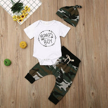 Load image into Gallery viewer, Baby Camo 3 piece Set