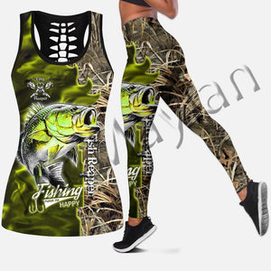 3D Fish Reaper Tank top, leggings or set