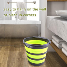 Load image into Gallery viewer, 4L or 10L Portable Folding Collapsible Bucket
