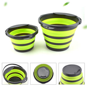 4L or 10L Portable Folding Collapsible Bucket