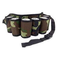 Load image into Gallery viewer, Portable 6 Pack Drink Belt Holster
