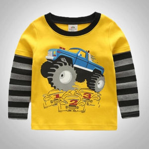 Kids Monster Truck Tee