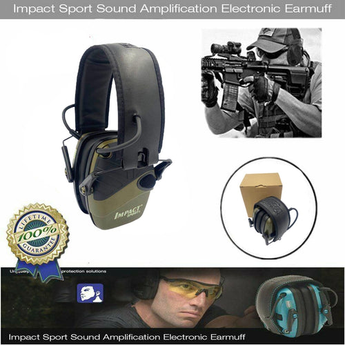 Electronic Anti-noise Shooting Earmuff