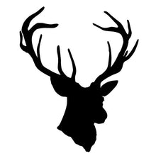 Load image into Gallery viewer, Deer Head Vinyl Sticker