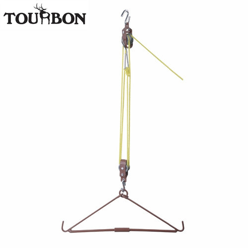 Tourbon Heavy Duty Gambrel & Hoist Set