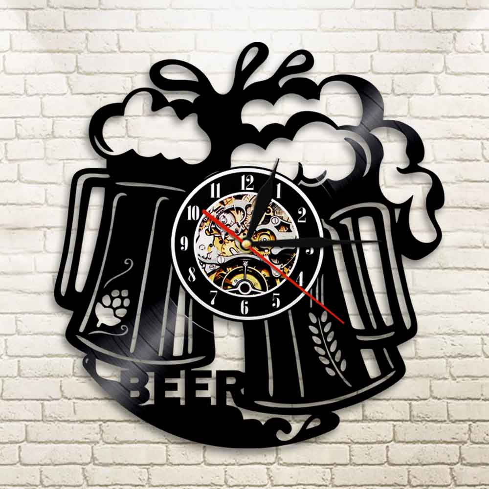 Wall Clock Beer