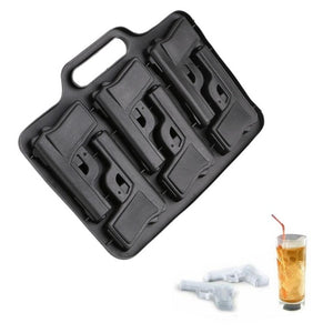 Gun, Bullet or Grenade Shape Ice Cube Tray