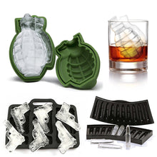 Load image into Gallery viewer, Gun, Bullet or Grenade Shape Ice Cube Tray