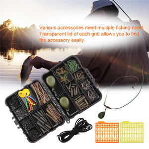 217pcs Carp Fishing Tackle Box