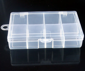 8 Compartment Fishing Tackle Box