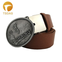 Load image into Gallery viewer, Browning Hunting Oval Belt Buckle