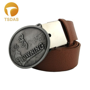 Browning Hunting Oval Belt Buckle