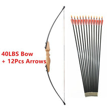 Load image into Gallery viewer, 30/40LBS Straight Bow