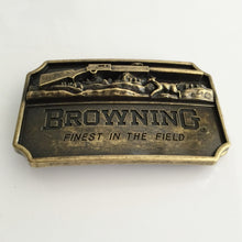 Load image into Gallery viewer, Browning Hunting Belt Buckle Bronze