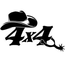 Load image into Gallery viewer, 4x4 cowboy Sticker