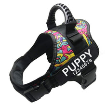 Load image into Gallery viewer, Personalized Dog Harness with Name and Phone Number, No Pull Dog Harness Custom Name Patch, Service Dog Vest