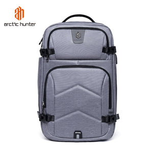 Smart Backpack Travel Waterproof Laptop Large Capacity Carrier USB Arctic Hunter
