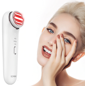 Radio Frequency Skin Tightening Device with Red LED Face Lifting Skin Rejuvenation Wrinkle Removal Xpreen