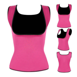Sweat Shaper Sauna Vest for Women Body Shaper Slimming Waist Excercise Top